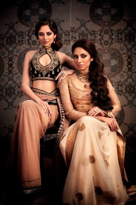 Miss India International 2013 Zoya Afroz and Miss India Earth 2013 Sobhita Dhulipala